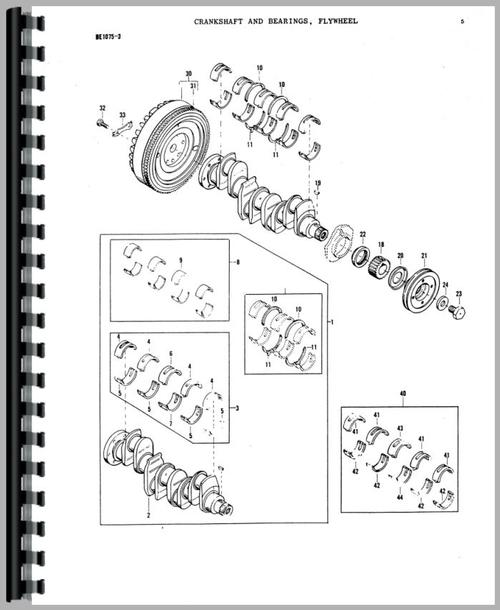 Massey Ferguson 165 Tractor Parts Manual