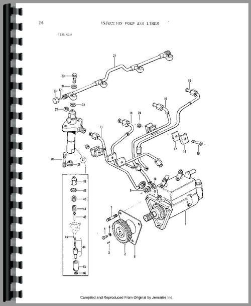 Massey Ferguson 282 Tractor Parts Manual