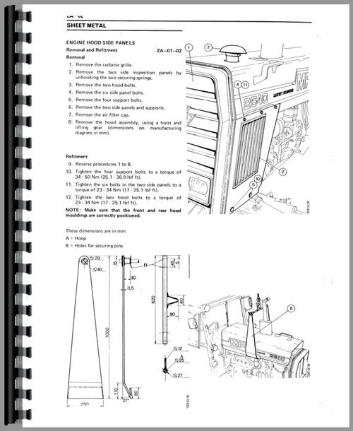 Massey Ferguson 3505 Tractor Service Manual