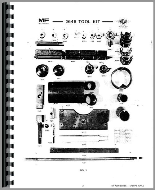 Massey Ferguson 4840 Tractor Service Manual