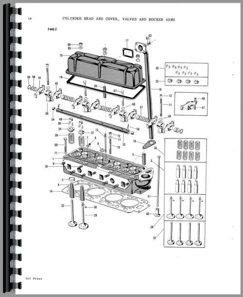 Massey Ferguson 85 Tractor Parts Manual