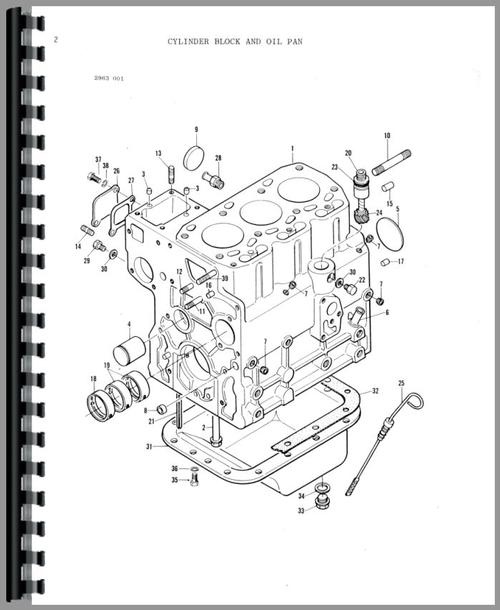 Massey Ferguson 1030 Tractor Parts Manual
