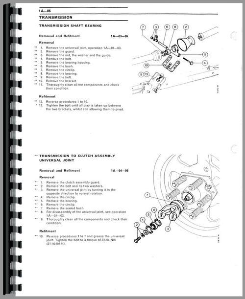 Massey Ferguson 128 Baler Service Manual