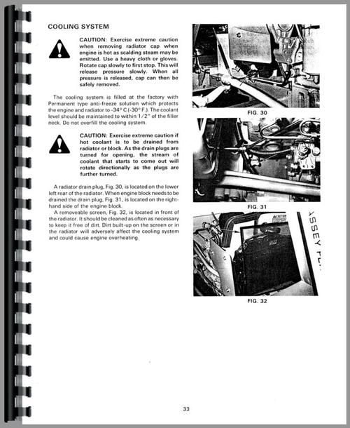 Massey Ferguson 205 Tractor Operators Manual