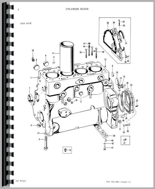 Massey Ferguson 275 Tractor Parts Manual