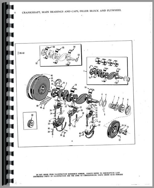 Massey Harris 22 Tractor Parts Manual
