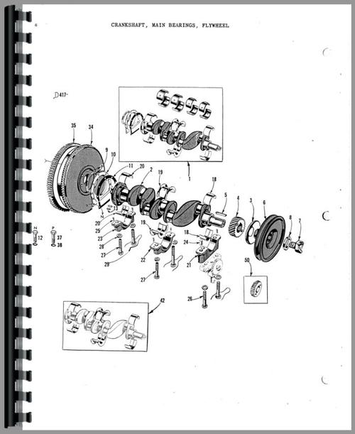 Massey Harris 33 Tractor Parts Manual