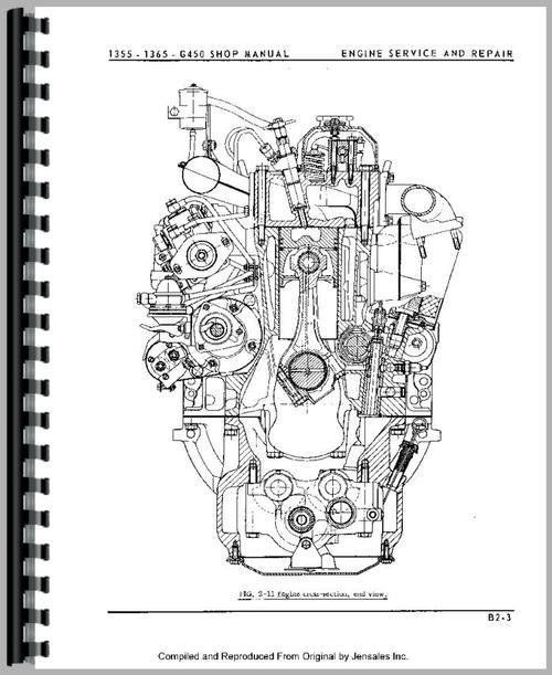 Minneapolis Moline G450 Tractor Service Manual