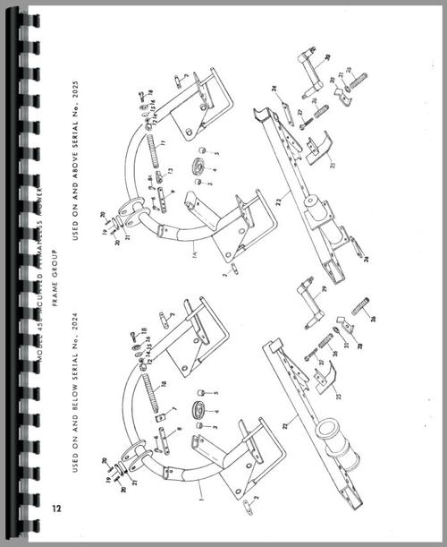 New Holland 450 Sickle Bar Mower Parts Manual