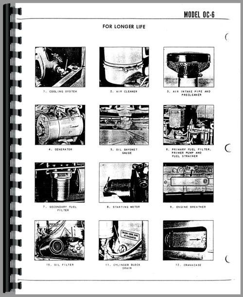 Oliver OC-6 Cletrac Crawler Service Manual