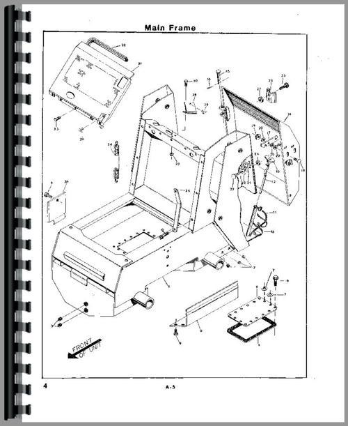 Owatonna 552 Skid Steer Loader Parts Manual
