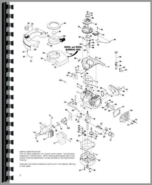 Tecumseh Vector Engine Service Manual