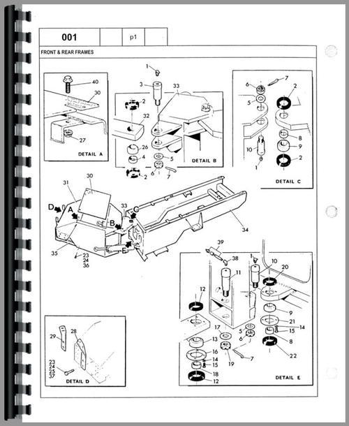 Versatile 875 Tractor Parts Manual