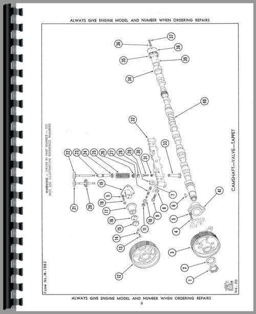 Waukesha 6SRLR Engine Parts Manual