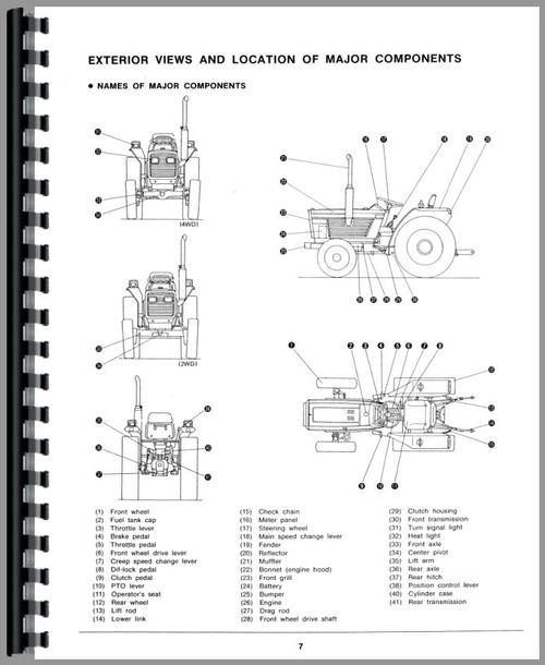 White 21 Field Boss Tractor Operators Manual