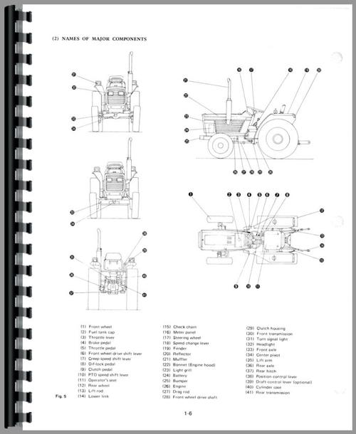 White 21 Field Boss Tractor Service Manual