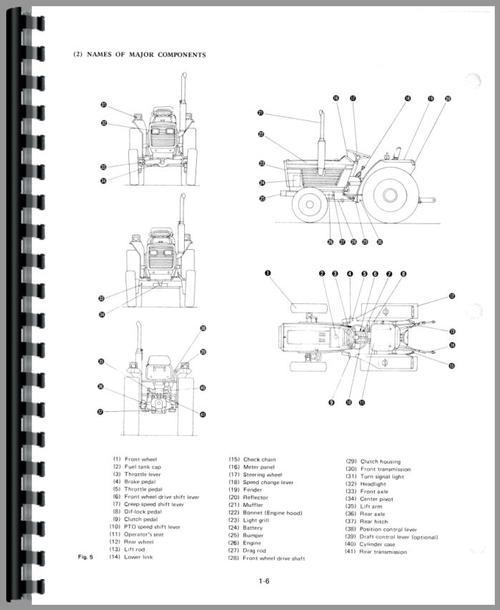White 21 Field Boss Tractor Service Manual