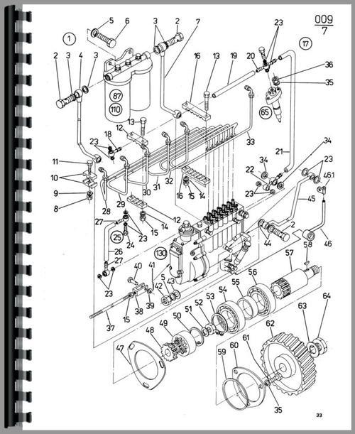 Zetor 8145 Tractor Service Manual