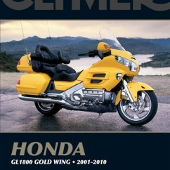 Goldwing Gl1800 Wiring Diagram 2007 Chrysler Sebring Fuse Box 2010 Best Data Honda Manual Service Repair Owners Black