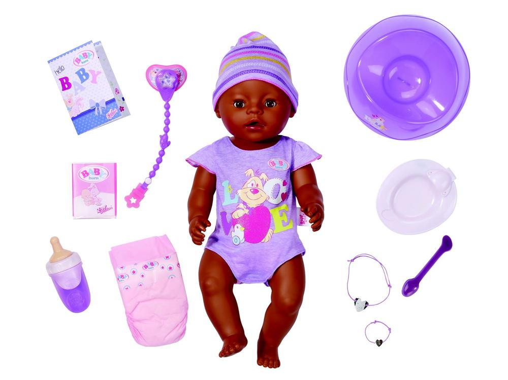 Baby Born Interactive Doll  Ethnic  Buy online at The Nile