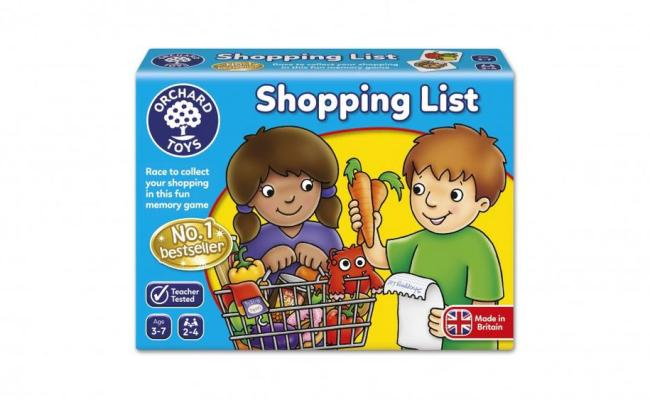 Orchard Toys Shopping List Game Buy Online At The Nile