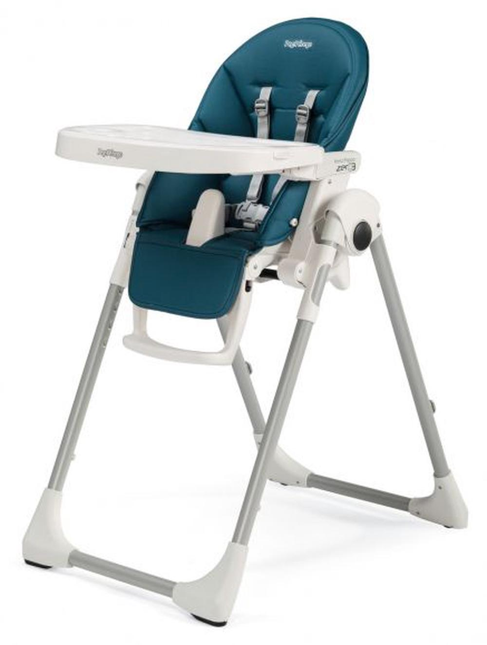 Perego High Chair Peg Perego Adjustable Prima Pappa Zero3 High Chair Petrolio Blue