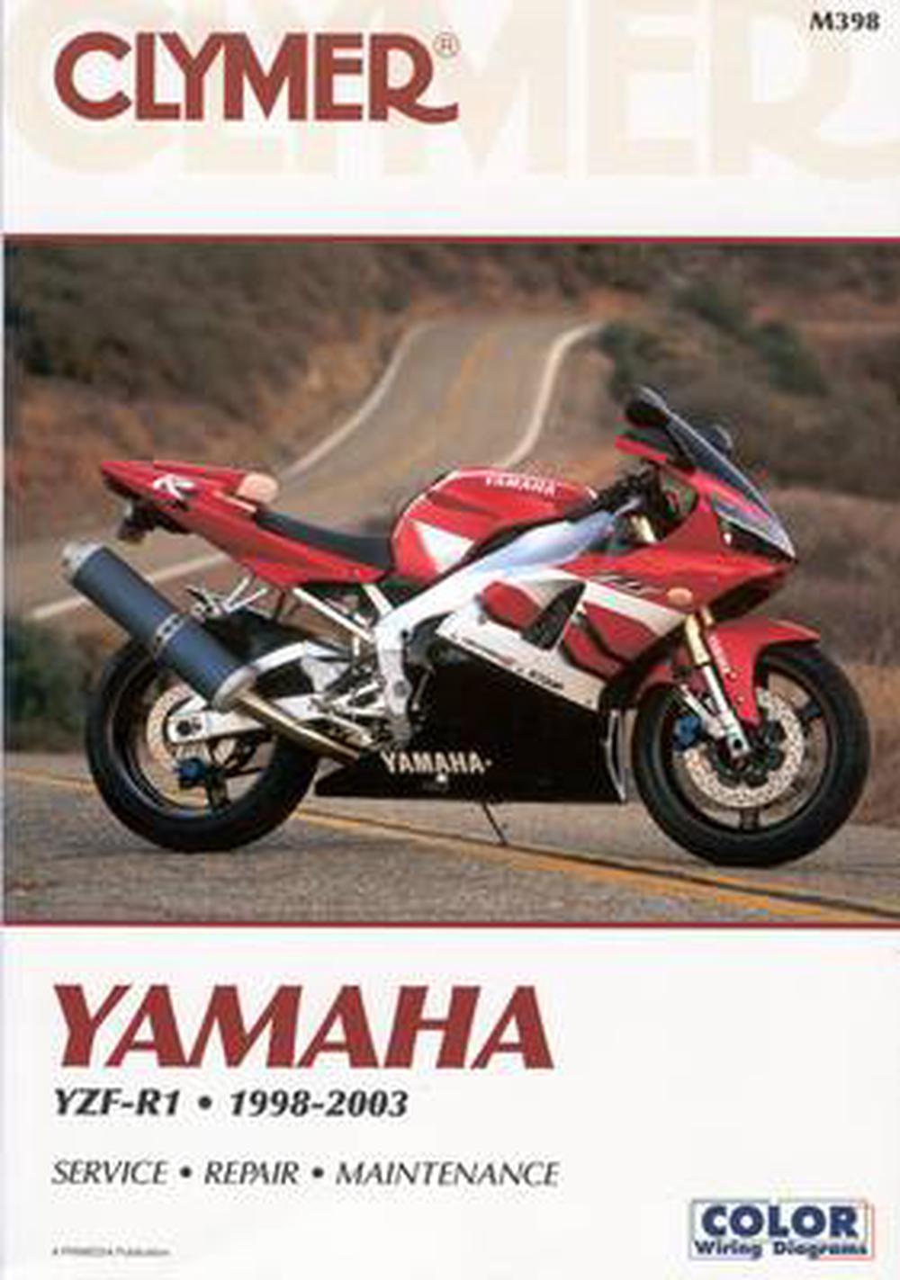 medium resolution of clymer yamaha yzf r1 1998 2003