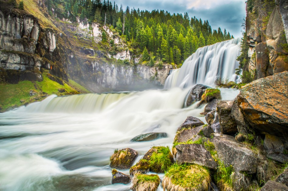 Explore Upper and Lower Mesa Falls Upper Mesa Falls