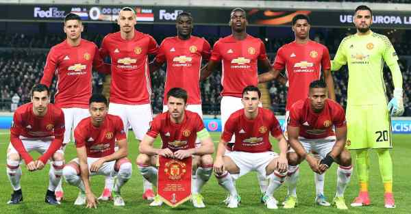 manchester united Anderlecht 1-1 Manchester United: Player ratings