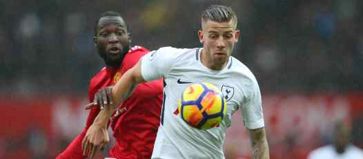 United were linked with a move for Toby Alderweireld during the summer transfer window.