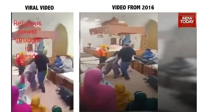 A report related to this video was published in India Today in the year 2016.