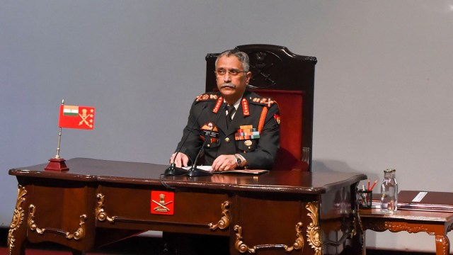 General Manoj Mukund Naravane said that the face-off between the Chinese People's Liberation Army troops and Indian troops is nothing new.