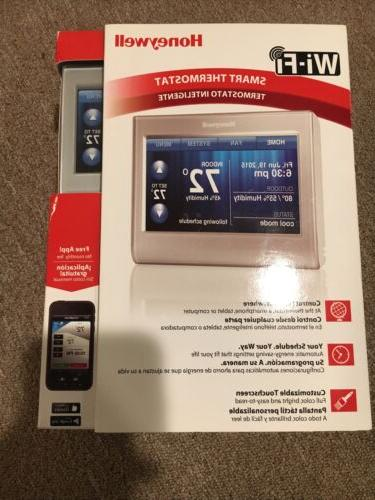 Honeywell RTH9580WF Wi-Fi Smart Thermostat. Control from anywhere.