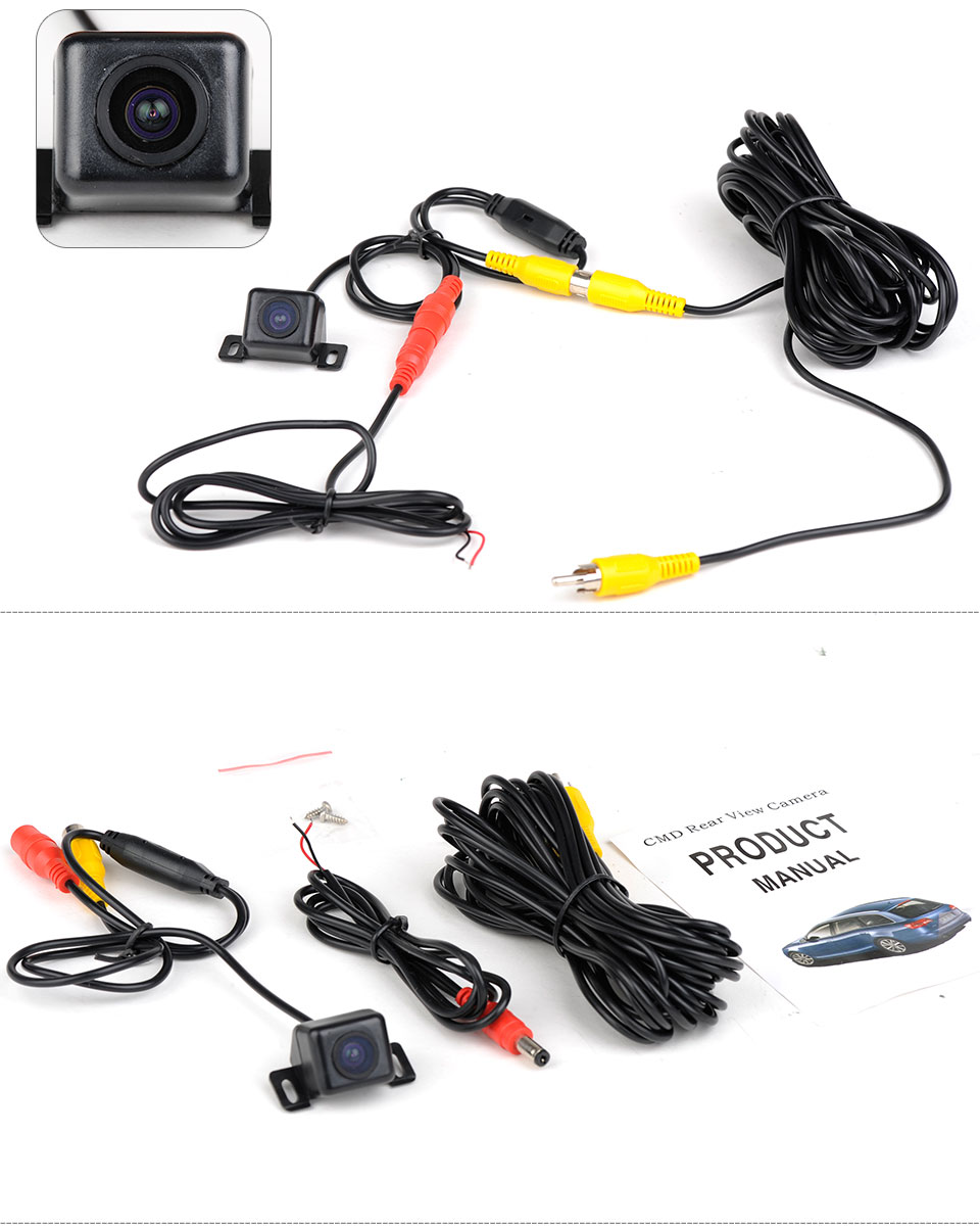 170°CMOS Anti Fog Night Vision Waterproof Car Rear View