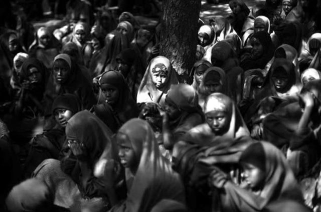Children Gather As Asho Once Did At Dadaab In Northern Kenya The Worlds Largest Refugee