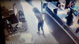 The woman who dropped her pants in a B.C. Tim Hortons had reportedly been told she could not use the washroom there.