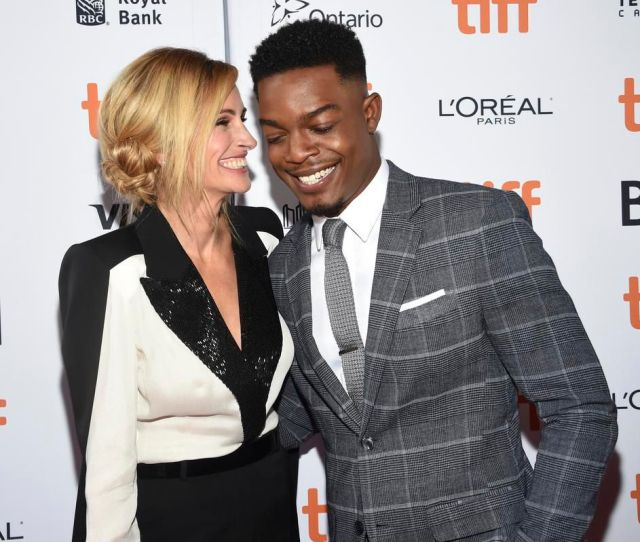 Julia Roberts Left And Stephan James Attend A Premiere For Homecoming On Day Two