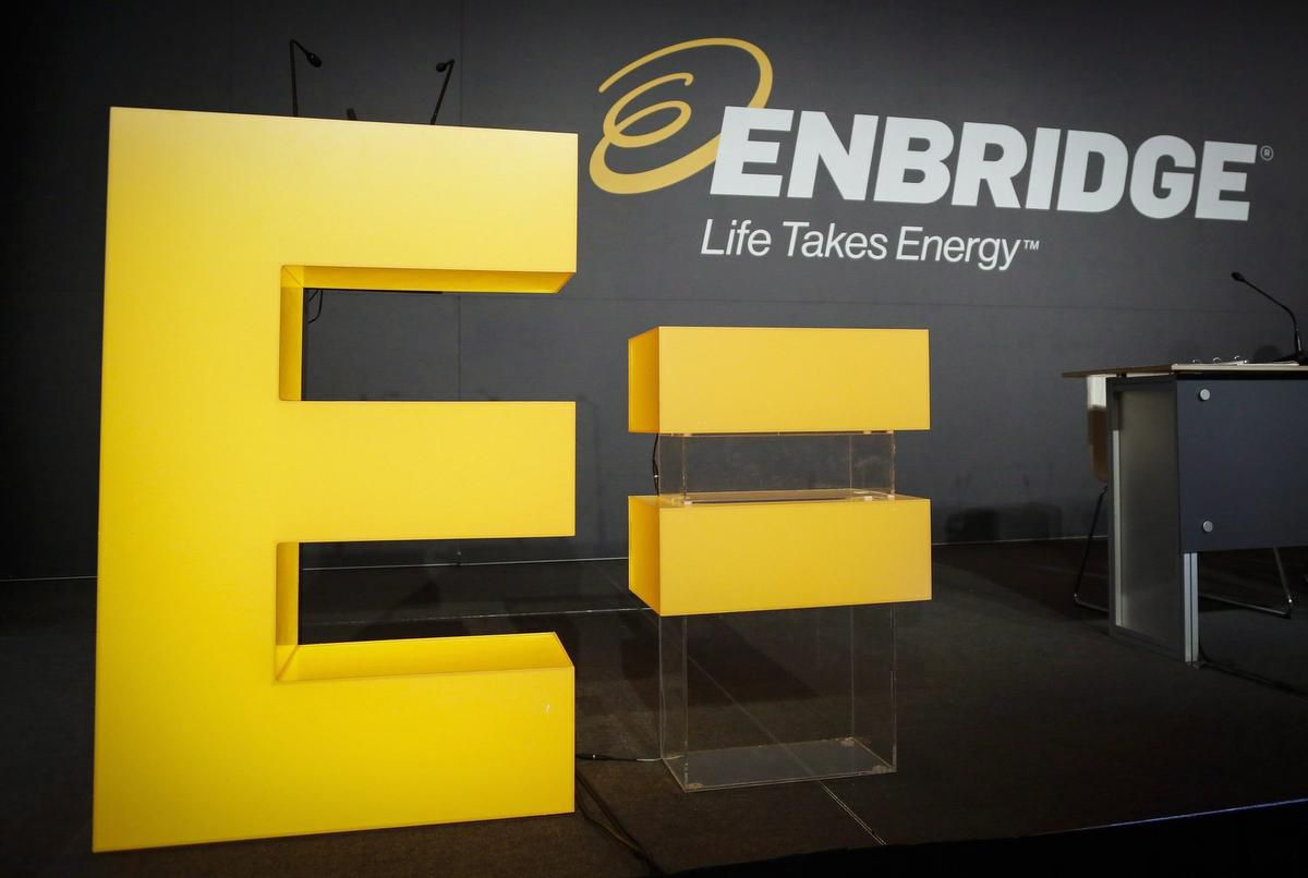 Enbridge is bigger and far more profitable than Suncor, but is is concerned about the potential impact of a closure of Line 5 pipeline.