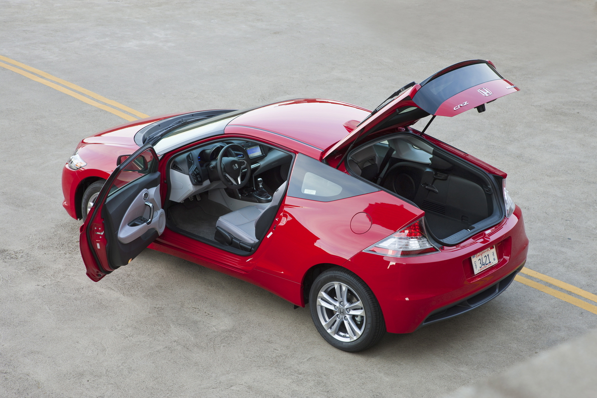 review 2011 honda cr z take two the truth about cars. Black Bedroom Furniture Sets. Home Design Ideas