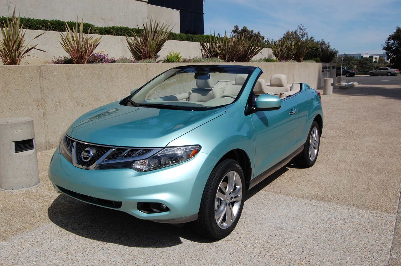 review 2011 nissan murano crosscabriolet the truth about cars. Black Bedroom Furniture Sets. Home Design Ideas