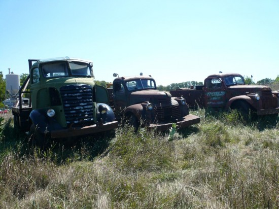 02 - Washington Island Farm Trucks - Picture courtesy of Murilee Martin