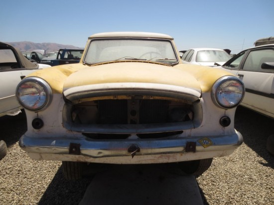 11 - 1960 Nash Metropolitan Down On the Junkyard - Picture courtesy of Murilee Martin