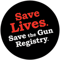 Save Lives. Save the Gun Registry