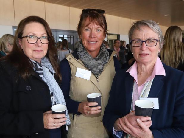 Jane Simonetti, Alison Wroth and Sally Martin, all of Toodyay.