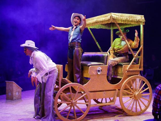 Emily Havea (Curly) in Black Swan Theatre Company's production of Oklahoma!