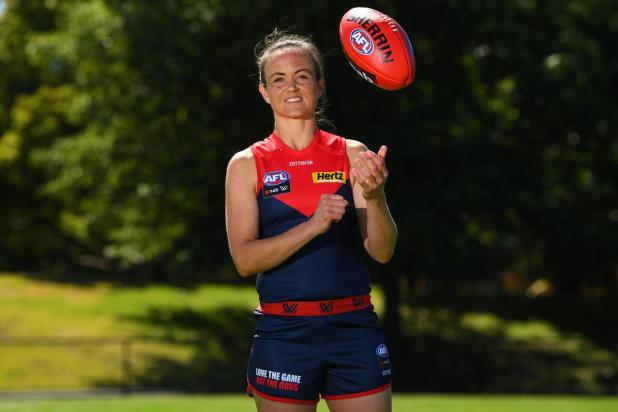 Melbourne's Daisy Pearce is tipping the Blues this season.