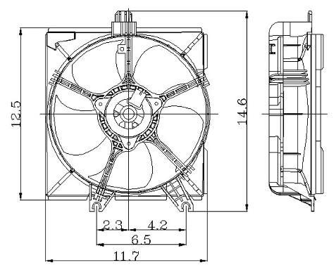 Dorman Cooling Fan Swamp Cooler Replacement Fan Wiring