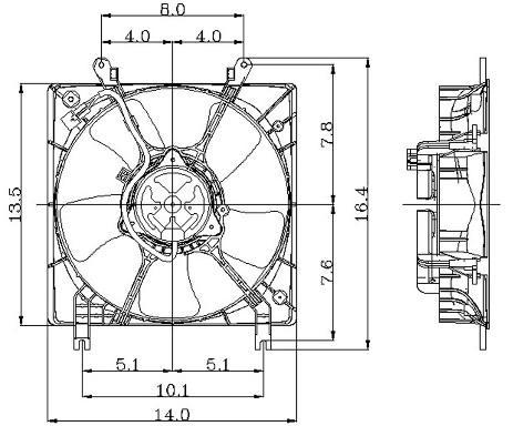 Radiator Electric Fan Kits Electric Generator Fans Wiring