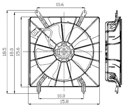 Kenworth Blower Motor Resistor Mercury Blower Motor