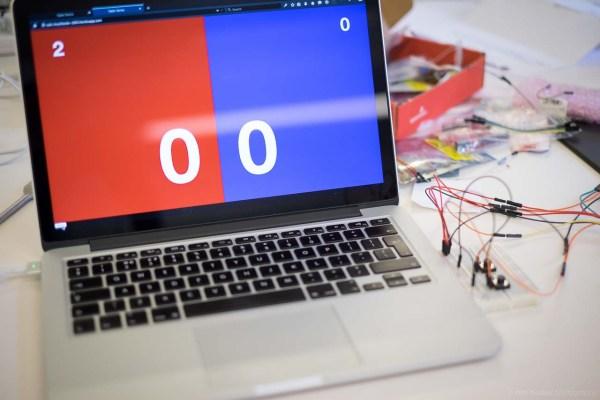 Building Ping Pong Scoreboard